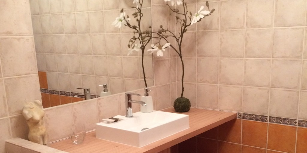 Marie, salle de bain