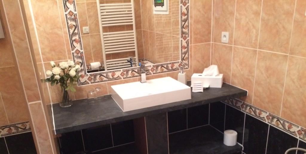 Orphée, salle de bain